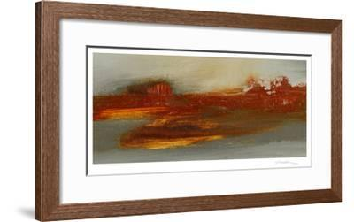 Red Horizon II-Sharon Gordon-Framed Limited Edition