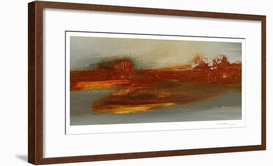 Red Horizon II-Sharon Gordon-Framed Limited Edition