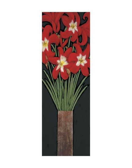 Red Hot Lilies-Rachel Rafferty-Art Print