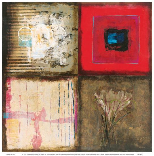 Red Hot-Jennifer Hollack-Art Print