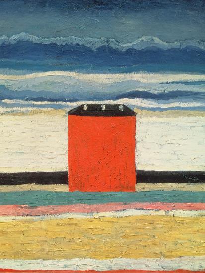 Red House, 1932-Kasimir Malevich-Premium Giclee Print