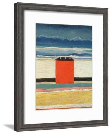 Red House, 1932-Kasimir Malevich-Framed Giclee Print