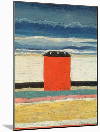Red House, 1932-Kasimir Malevich-Mounted Giclee Print