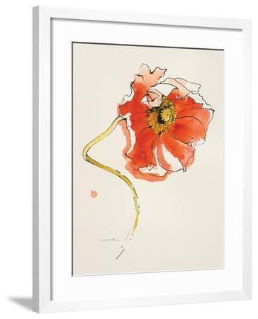 Red Icelands II-Shirley Novak-Framed Art Print