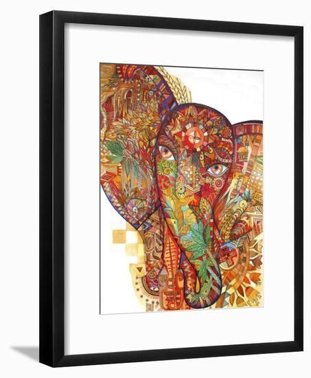 Red India-Oxana Zaika-Framed Premium Giclee Print