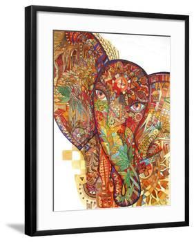 Red India-Oxana Zaika-Framed Giclee Print