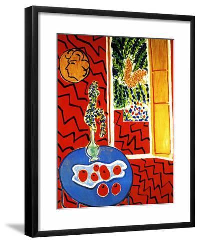 Red Interior-Henri Matisse-Framed Giclee Print