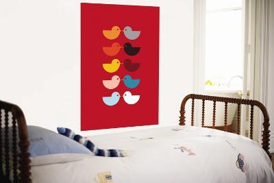 Red Kiss-Avalisa-Wall Mural