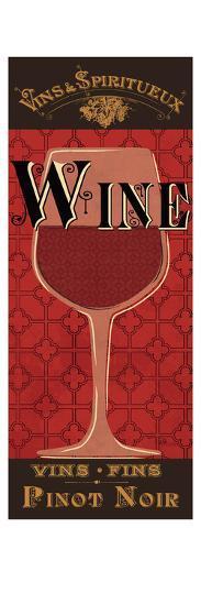 Red Label III-Pela Design-Premium Giclee Print