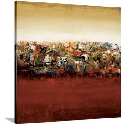 Red Lake-Yehan Wang-Stretched Canvas Print