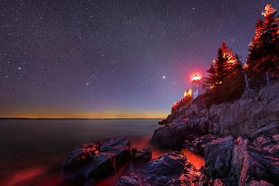 Red Lantern-Michael Blanchette-Photographic Print