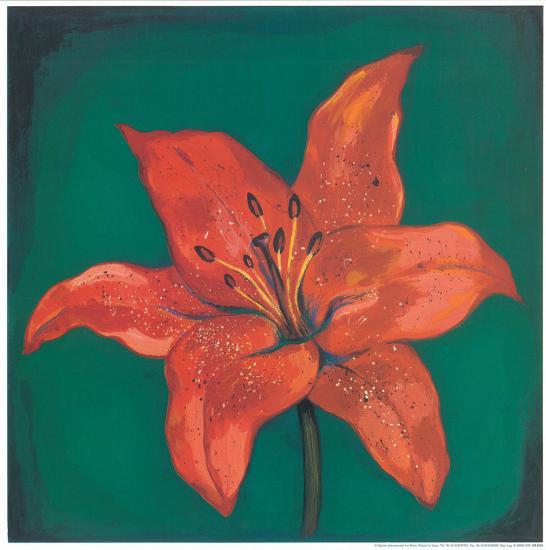Red Lily-Urpina-Art Print