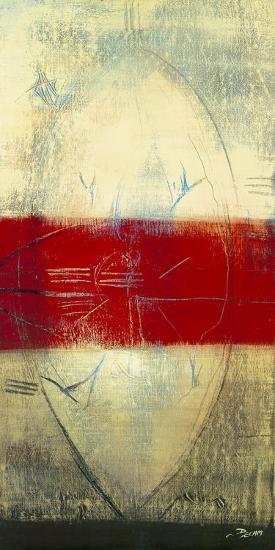 Red Lines I-Carole B?cam-Art Print