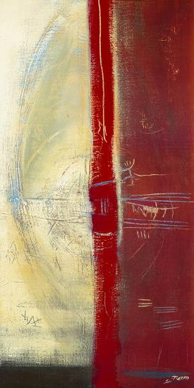 Red Lines II-Carole B?cam-Art Print
