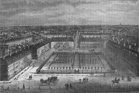 Red Lion Square, London, in 1800, 1878-Unknown-Giclee Print
