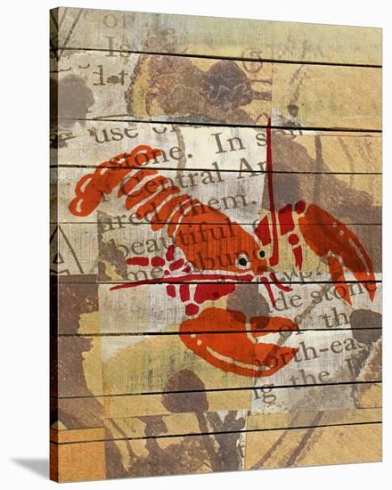 Red Lobster III-Irena Orlov-Stretched Canvas Print