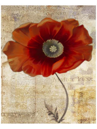 Red Masterpiece II-Louise Montillio-Art Print