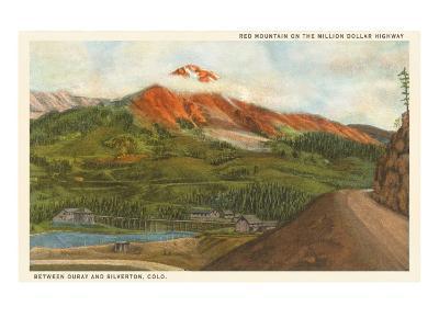 Red Mountain, Colorado--Art Print