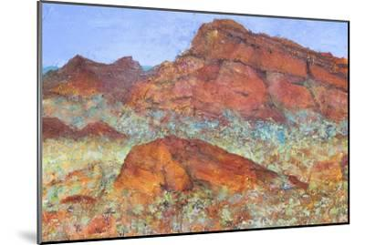 Red Mountain-Margaret Coxall-Mounted Giclee Print