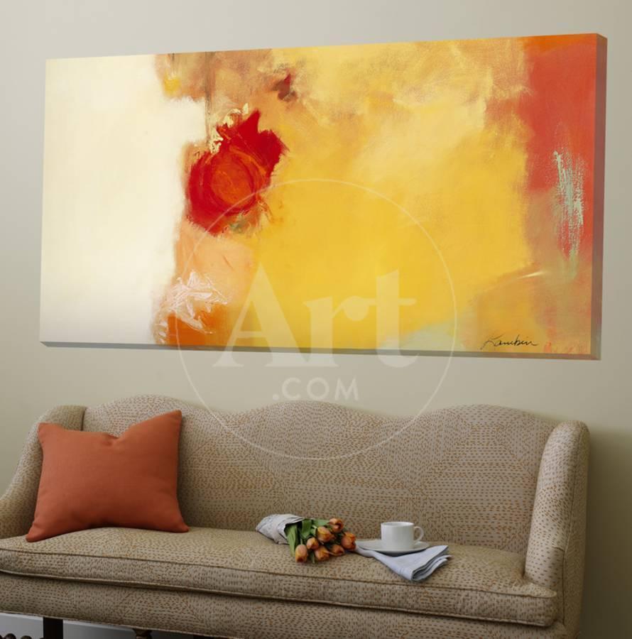 Red Note Loft Art by Diane Lambin | the NEW Art.com