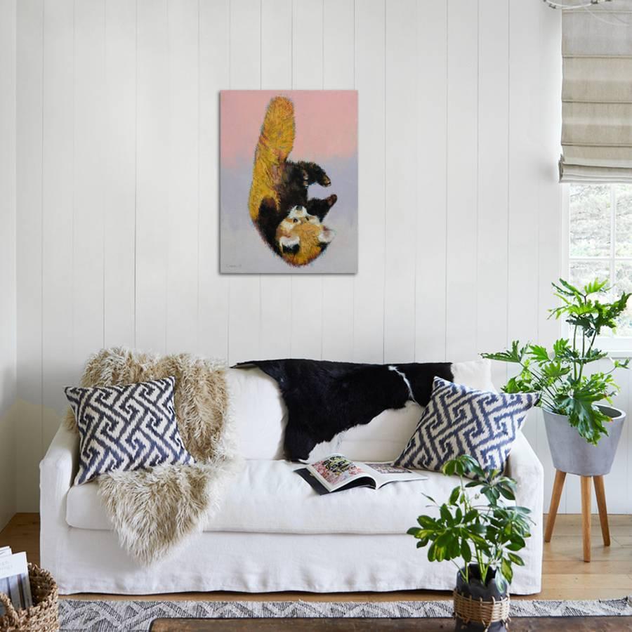 Red Panda Cub Art Print Michael Creese Art Com