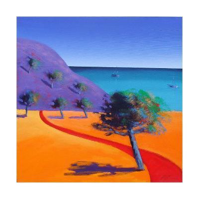 Red Path-Paul Powis-Giclee Print