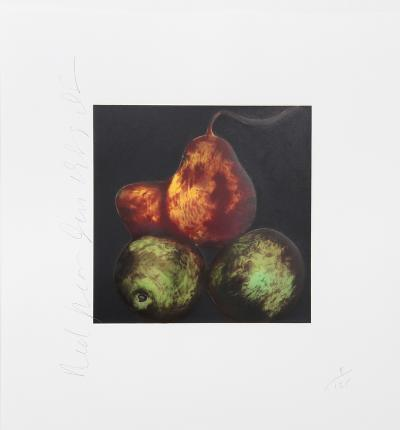 Red Pears-Donald Sultan-Limited Edition