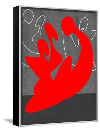 Red People-NaxArt-Framed Canvas Print