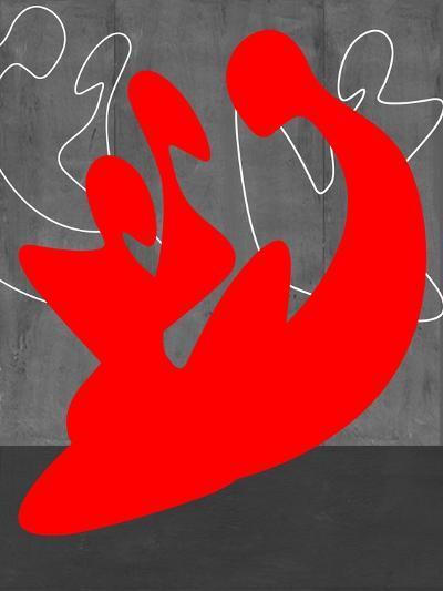 Red People-NaxArt-Art Print