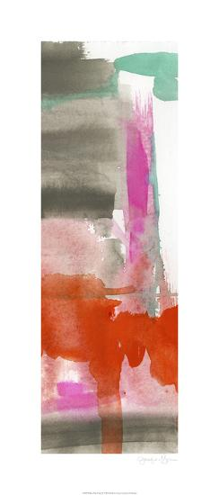 Red, Pink & Grey II-Jennifer Goldberger-Limited Edition