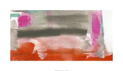 Red, Pink & Grey III-Jennifer Goldberger-Limited Edition
