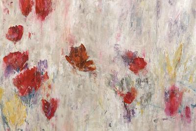 Red Pop Floral-Jodi Maas-Giclee Print