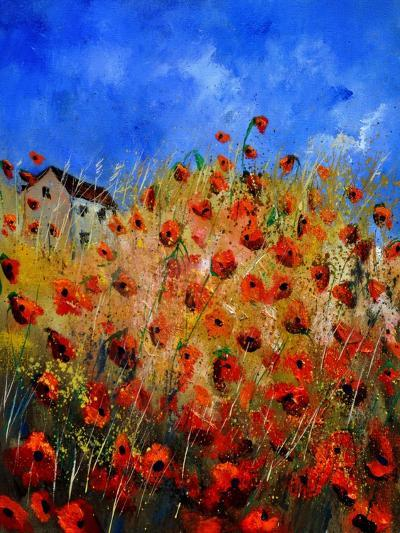 Red Poppies 562111-Pol Ledent-Art Print