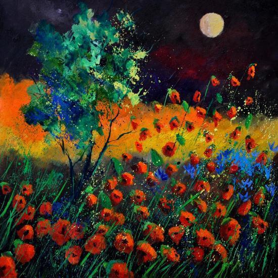 Red Poppies 774111-Pol Ledent-Art Print
