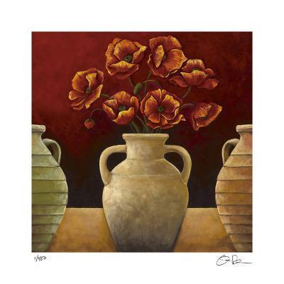 Red Poppies-Georgia Rene-Giclee Print