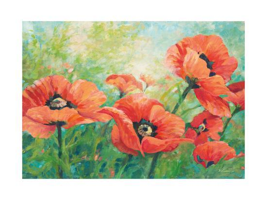 Red Poppies-Wendy Kroeker-Art Print