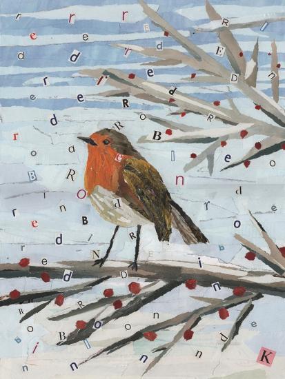 Red, Red Robin-Kirstie Adamson-Giclee Print