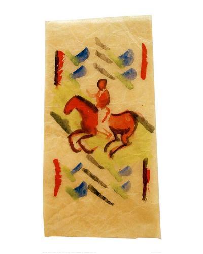Red Rider, 1913-Wassily Kandinsky-Giclee Print