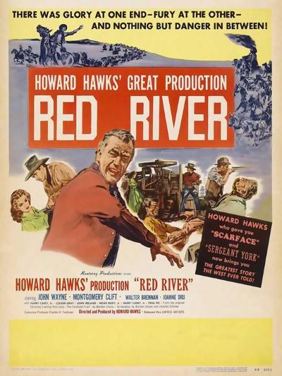 Red River, 1948--Art Print