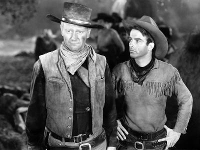 Red River, John Wayne, Montgomery Clift, 1948--Photo