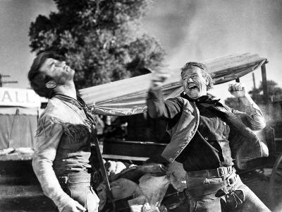 Red River, Montgomery Clift, John Wayne, 1948--Photo