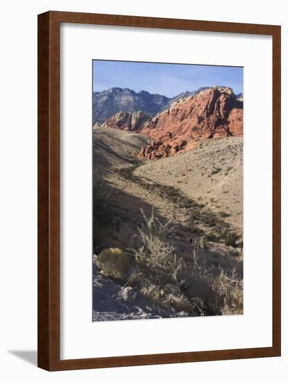 Red Rock National Conservation Area, Las Vegas, Nevada, United States-Natalie Tepper-Framed Photo