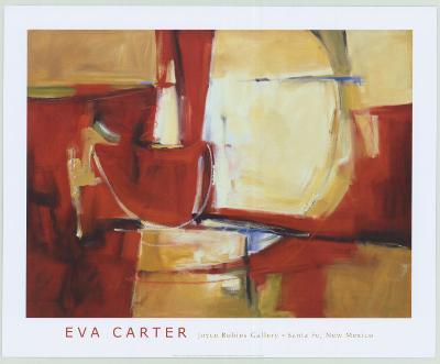 Red Rock-Eva Carter-Art Print