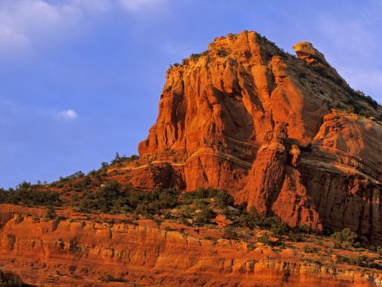 Red Rocks At Sterling Canyon In Sedona Arizona Usa