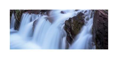 Red Rocks Falls Glacier N P-Steve Gadomski-Photographic Print