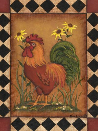 Red Rooster I-Kim Lewis-Art Print