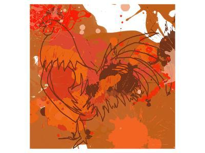 Red Rooster-Irena Orlov-Art Print