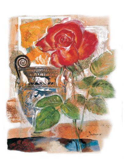 Red Rose-Joadoor-Art Print