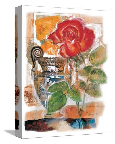 Red Rose-Joadoor-Stretched Canvas Print
