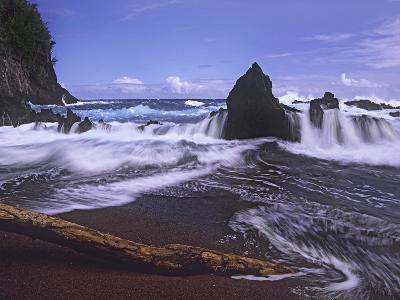 Red Sand Beach, Hana, Maui, Hawaii, Usa-Tim Fitzharris-Photographic Print